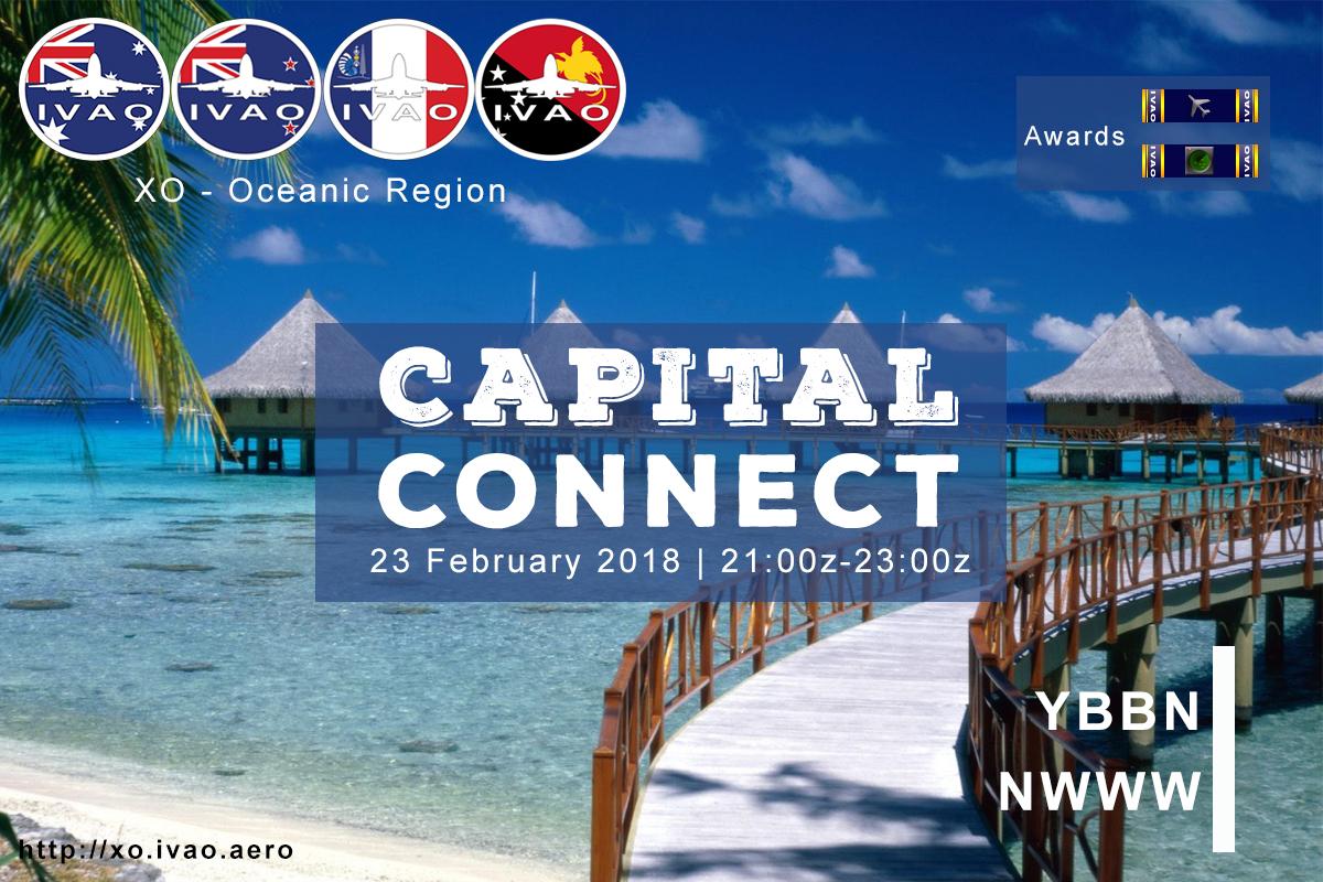 [XO] Capital Connect - YBBN Brisbane/NWWW Noumea