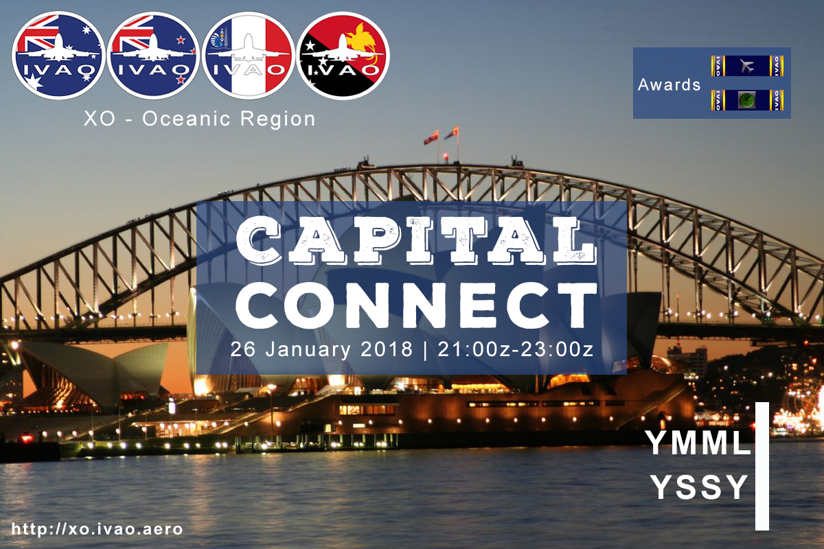 [XO] Capital Connect - YMML Melbourne/YSSY Sydney