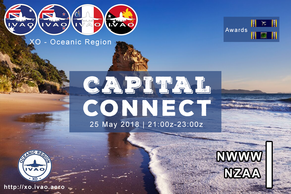 [XO] Capital Connect - NWWW Noumea/NZAA Auckland