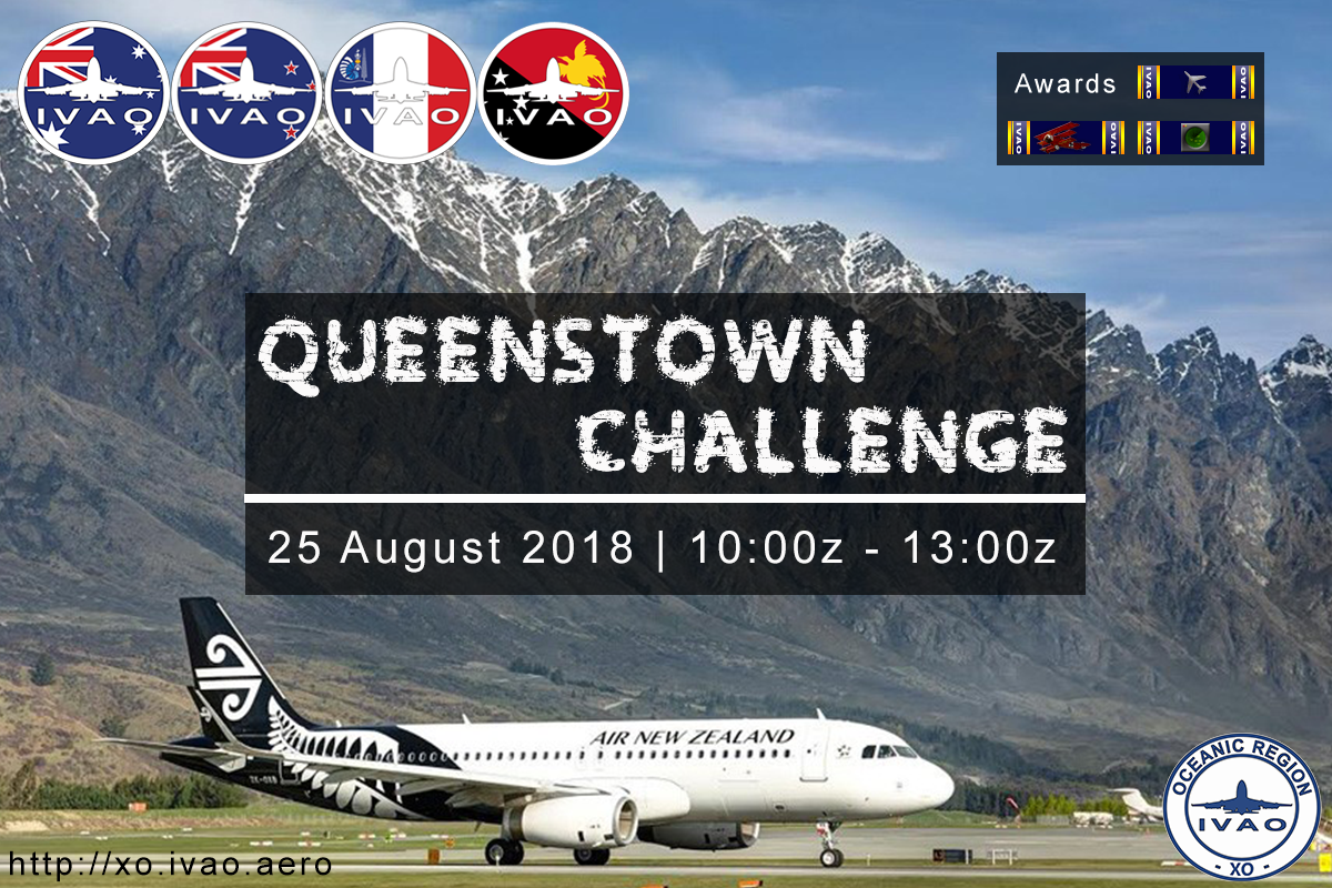 [XO] Queenstown Challenge